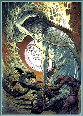 Kaluta&#39;s Angels: Phanuel